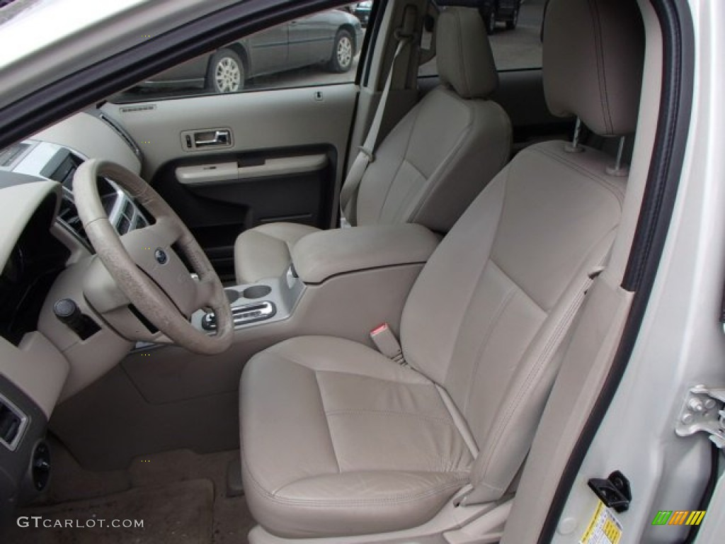 medium light stone interior 2007 ford edge sel plus awd. Black Bedroom Furniture Sets. Home Design Ideas