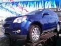 2010 Navy Blue Metallic Chevrolet Equinox LT AWD  photo #1