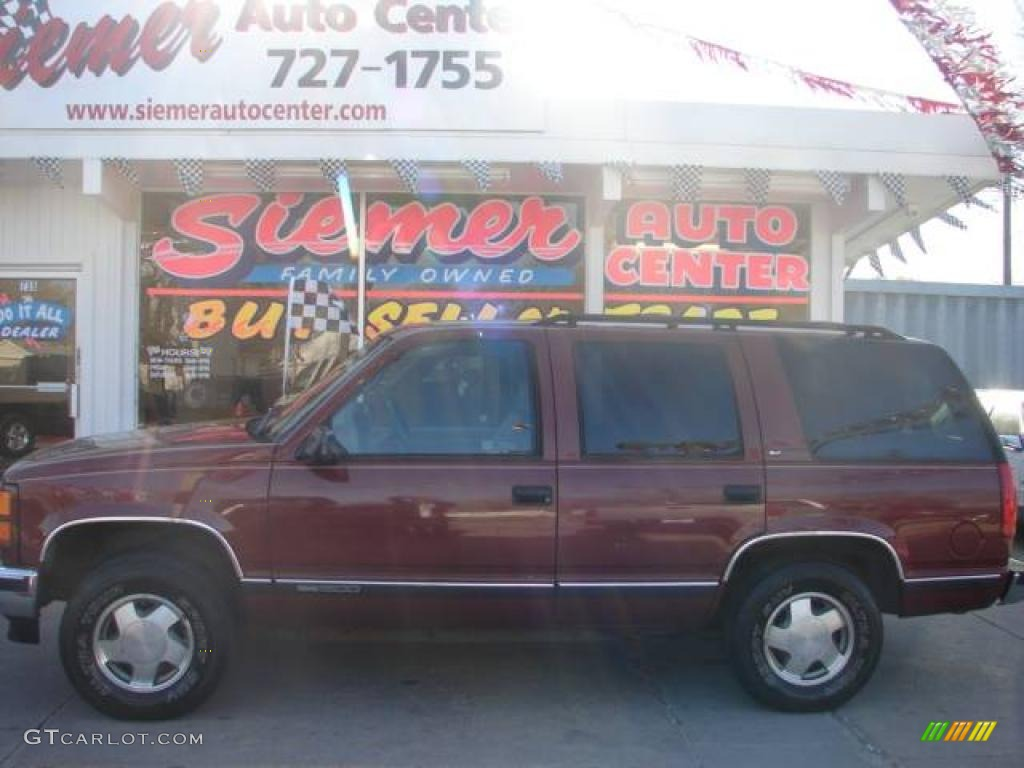 1998 red maple metallic gmc yukon slt 4x4 7923638 gtcarlot com car color galleries gtcarlot com