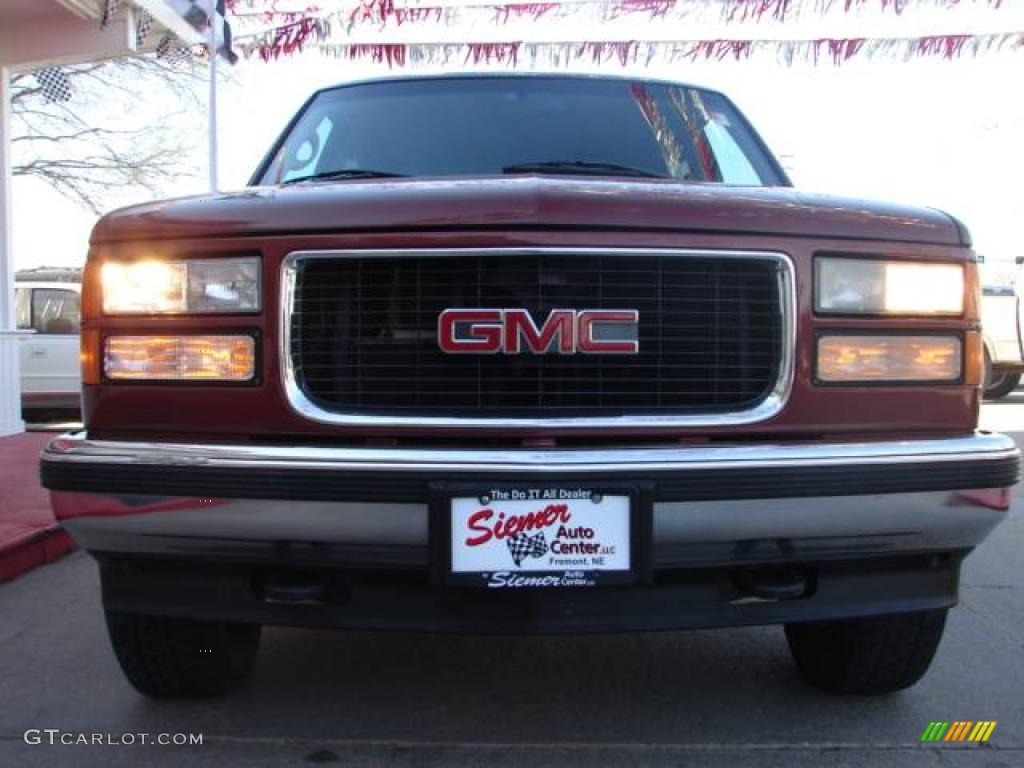 1998 red maple metallic gmc yukon slt 4x4 7923638 photo 3 gtcarlot com car color galleries 1998 red maple metallic gmc yukon slt 4x4 7923638 photo 3 gtcarlot com car color galleries