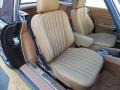 Front Seat of 1989 SL Class 560 SL Roadster