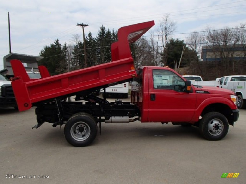 2013 vermillion red ford f350 super duty xl regular cab 4x4 dump truck 79513040 gtcarlot com