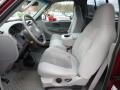 2003 F150 XLT Regular Cab 4x4 Medium Graphite Grey Interior