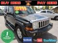 Black 2006 Jeep Commander Limited