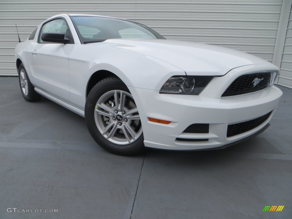 2014 oxford white ford mustang v6 coupe 79513259 car color galleries. Black Bedroom Furniture Sets. Home Design Ideas