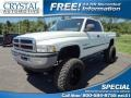 Bright White 1998 Dodge Ram 1500 ST Extended Cab 4x4