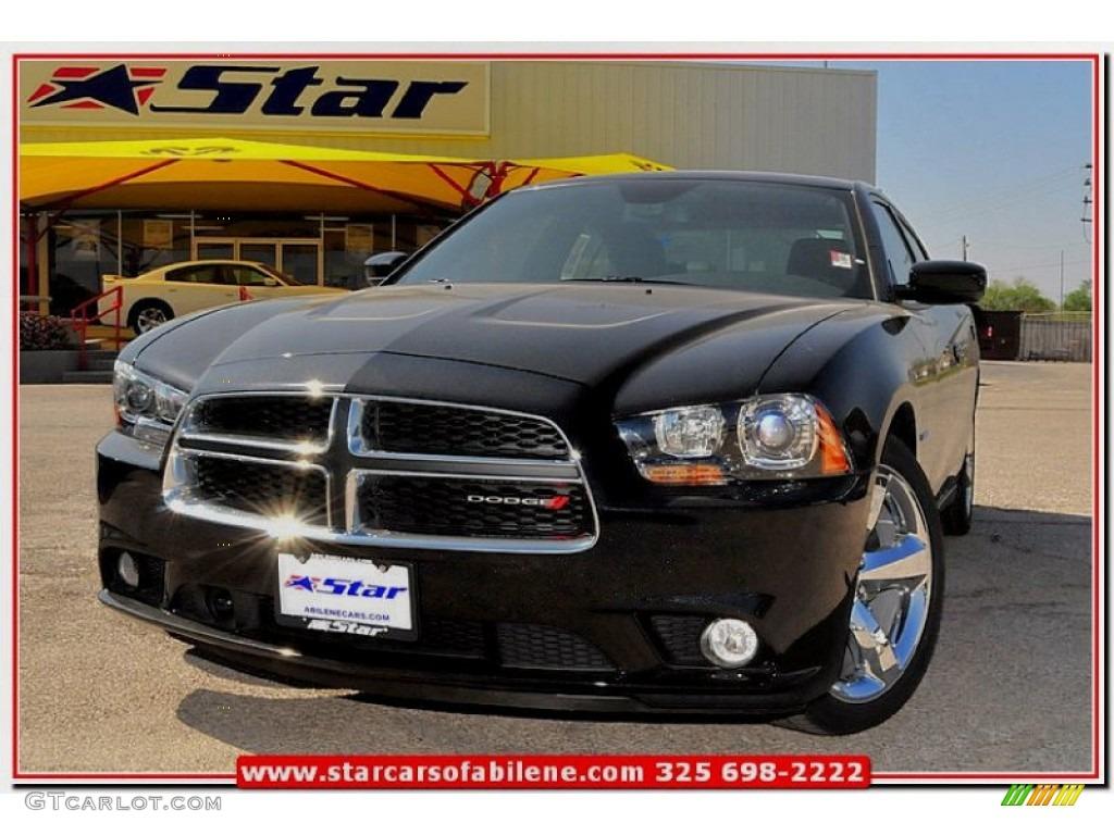 2013 Phantom Black TriCoat Pearl Dodge Charger RT Max 79513395
