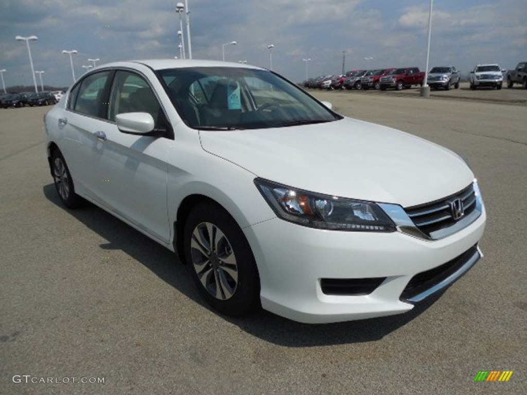 White Orchid Pearl 2013 Honda Accord Lx Sedan Exterior Photo 79562470 Gtcarlot Com