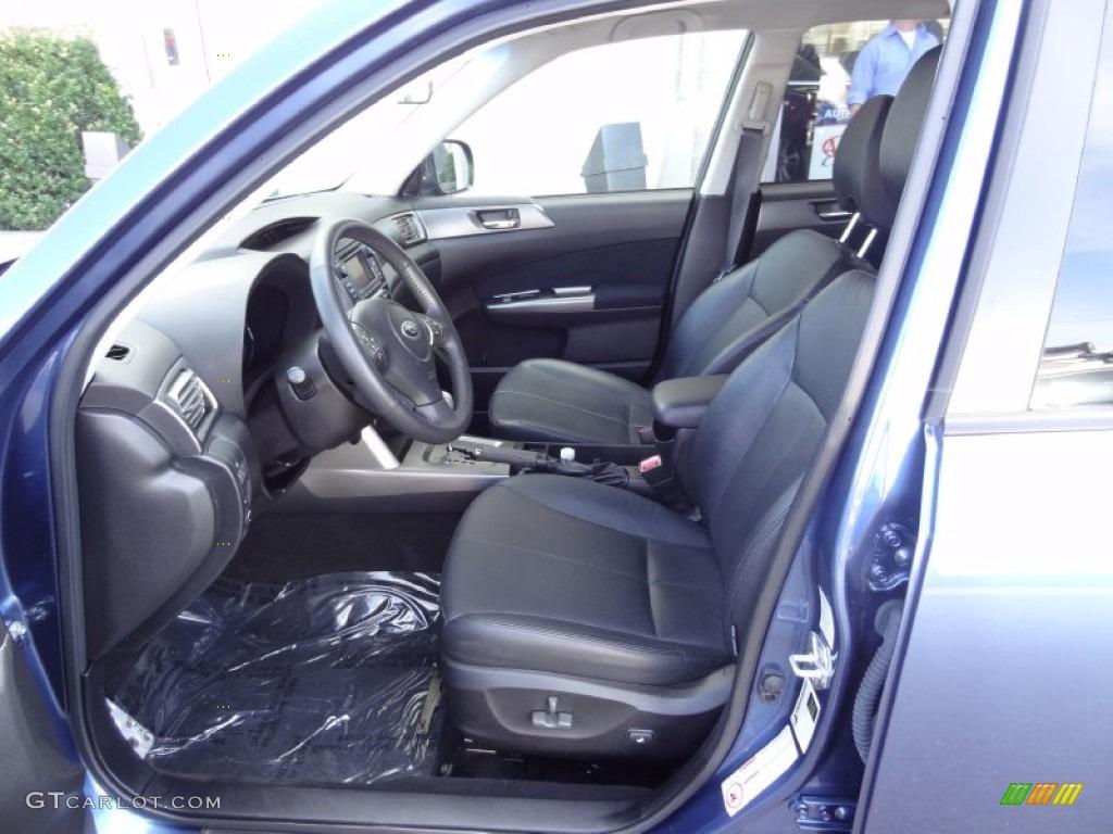 Black Interior 2011 Subaru Forester 2 5 Xt Touring Photo 79563894