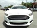2013 Oxford White Ford Fusion S  photo #15