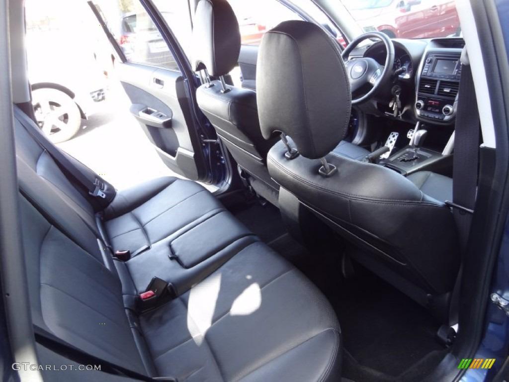 Black Interior 2011 Subaru Forester 2 5 Xt Touring Photo 79564069