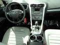 2013 Oxford White Ford Fusion S  photo #24