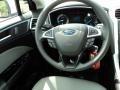 2013 Oxford White Ford Fusion S  photo #25