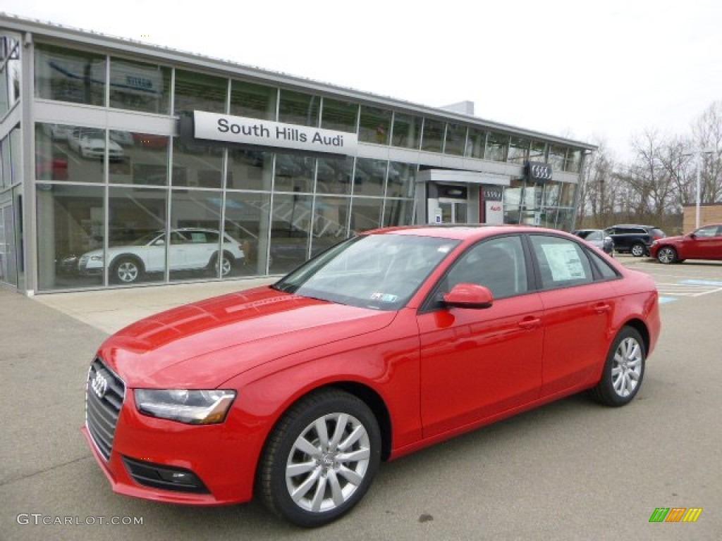 2013 Brilliant Red Audi A4 2 0t Quattro Sedan 79569487