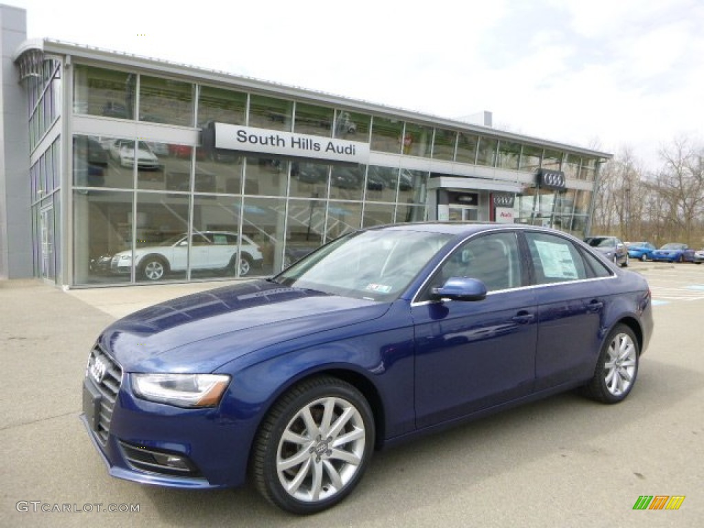 2013 scuba blue metallic audi a4 2 0t quattro sedan 79569485 photo 5 gtcarlot com car