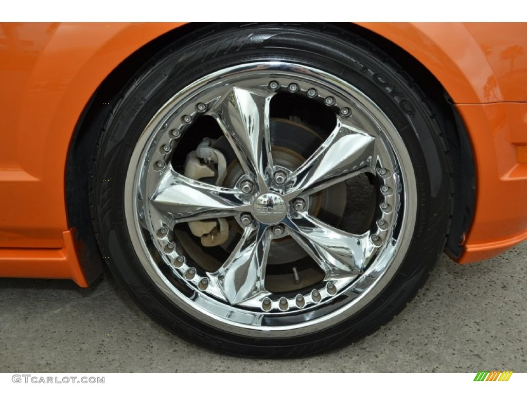 2006 Ford Mustang GT Premium Coupe Custom Wheels Photo #79580500