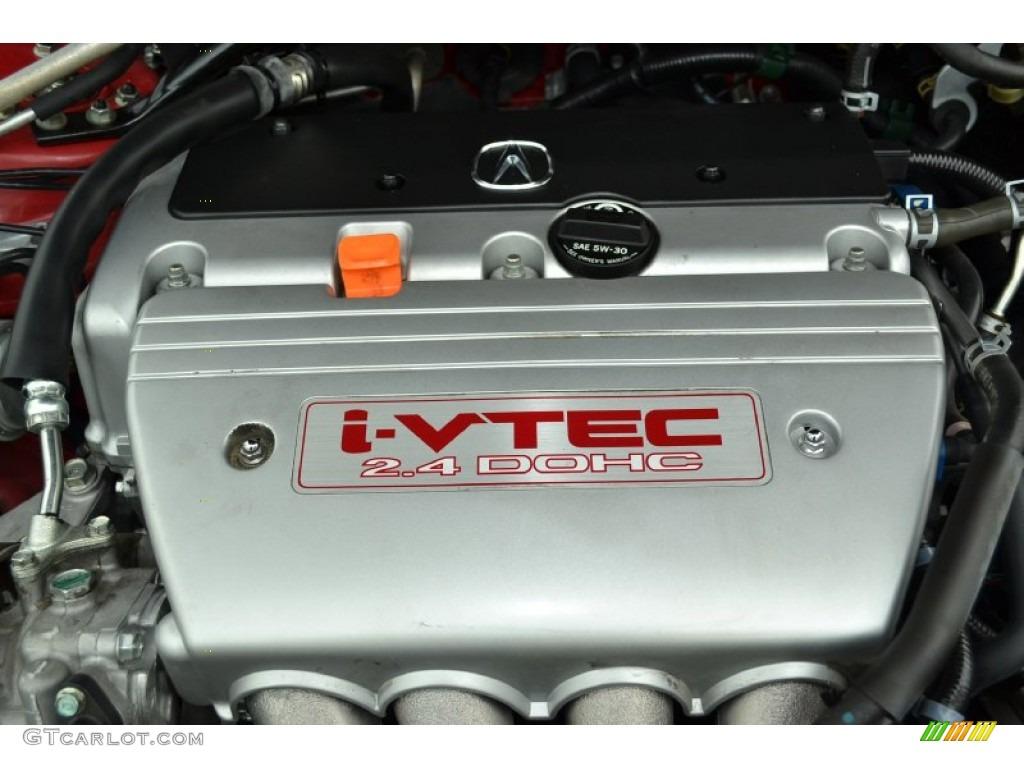 Acura TSX Sedan Liter DOHC Valve IVTEC Cylinder - 2007 acura tsx engine