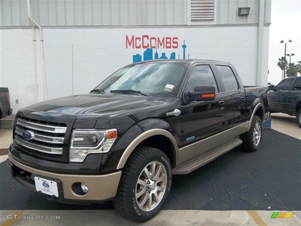 2013 kodiak brown metallic ford f150 king ranch supercrew 4x4 79569287 photo 2. Black Bedroom Furniture Sets. Home Design Ideas