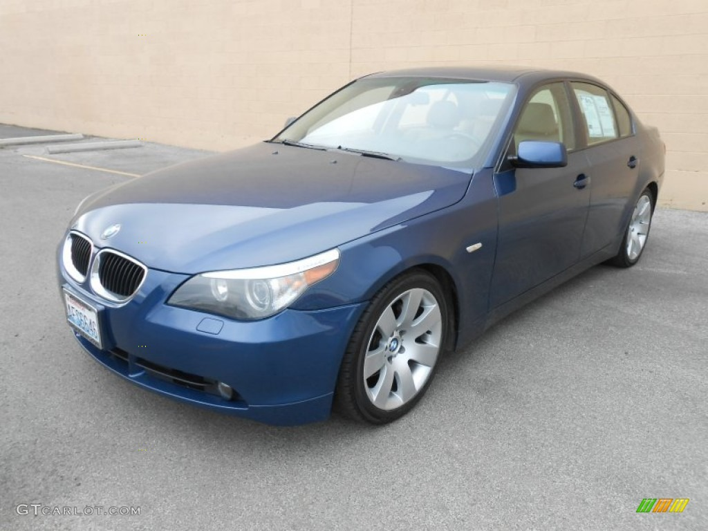 mystic blue metallic 2004 bmw 5 series 530i sedan exterior. Black Bedroom Furniture Sets. Home Design Ideas