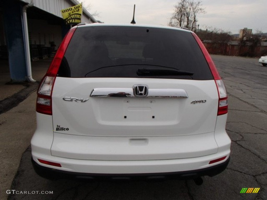 2011 CR-V EX 4WD - Taffeta White / Gray photo #7