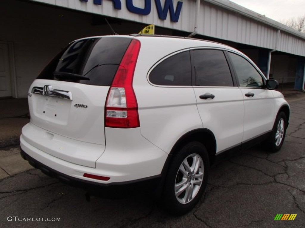 2011 CR-V EX 4WD - Taffeta White / Gray photo #8