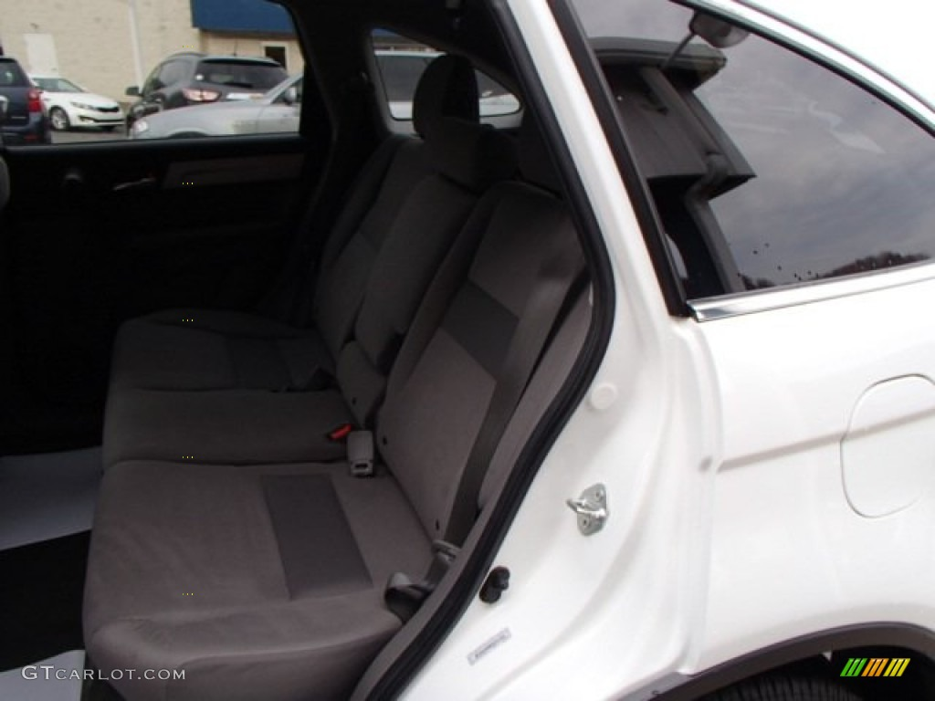 2011 CR-V EX 4WD - Taffeta White / Gray photo #13
