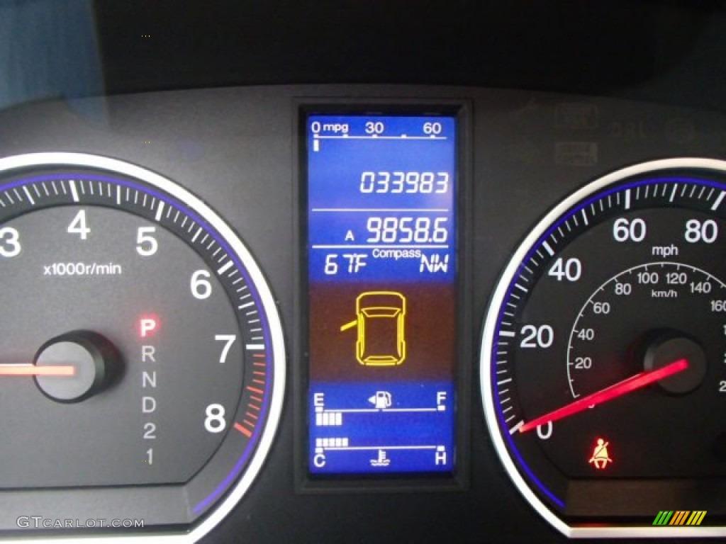 2011 CR-V EX 4WD - Taffeta White / Gray photo #19