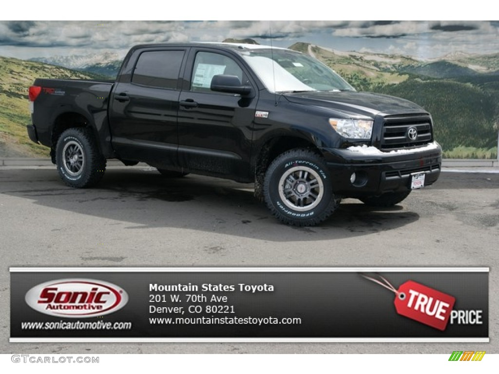 2013 Tundra TRD Rock Warrior CrewMax 4x4 - Black / Graphite photo #1