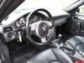 Black 2007 Porsche 911 Carrera S Coupe Dashboard