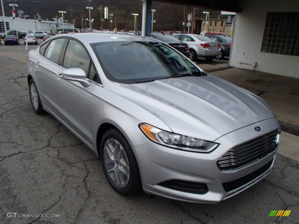 Ingot Silver Metallic 2013 Ford Fusion Se 1 6 Ecoboost Exterior Photo 79648631