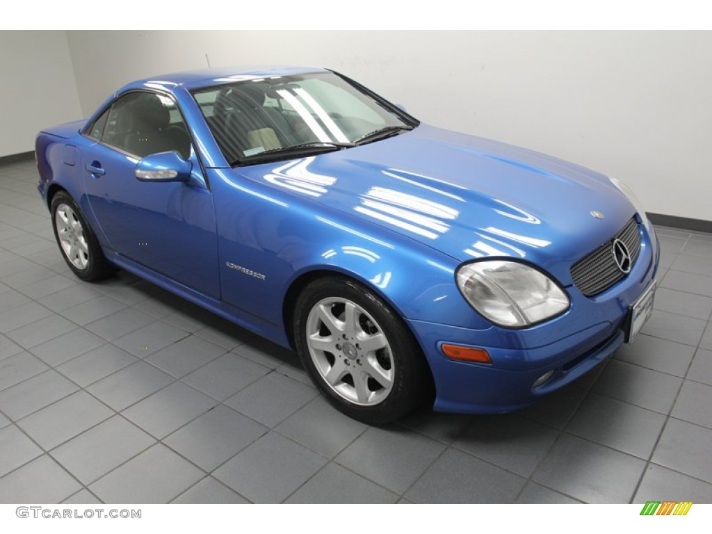 2001 mercedes benz slk 230 kompressor roadster exterior for Mercedes benz slk230 kompressor
