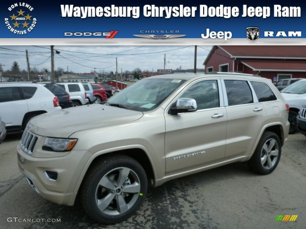 2014 cashmere pearl jeep grand cherokee overland 4x4 79627970 photo. Cars Review. Best American Auto & Cars Review