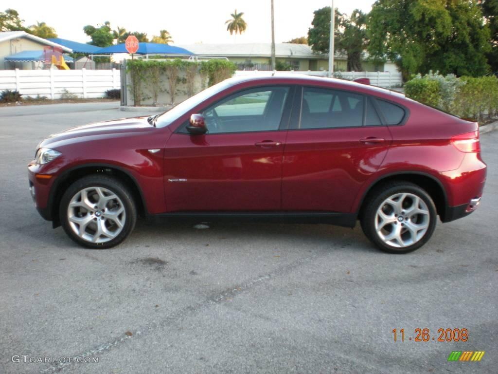 2008 Vermilion Red Metallic Bmw X6 Xdrive35i 795839 Gtcarlot Com Car Color Galleries