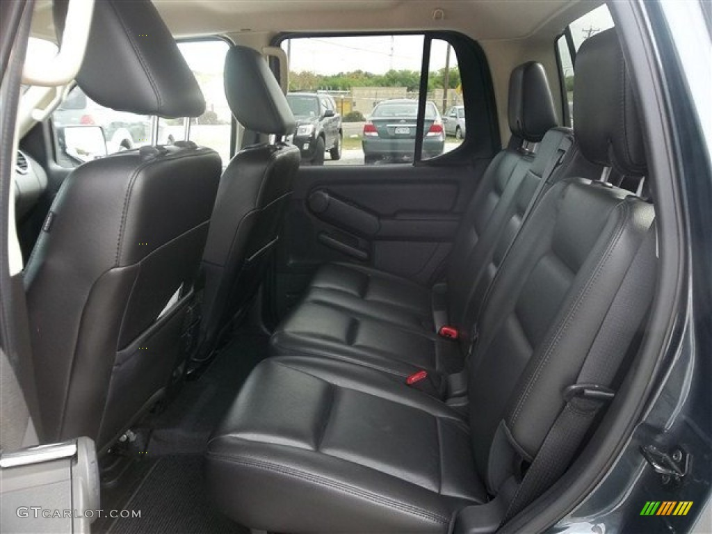 Charcoal Black Interior 2010 Ford Explorer Sport Trac Limited