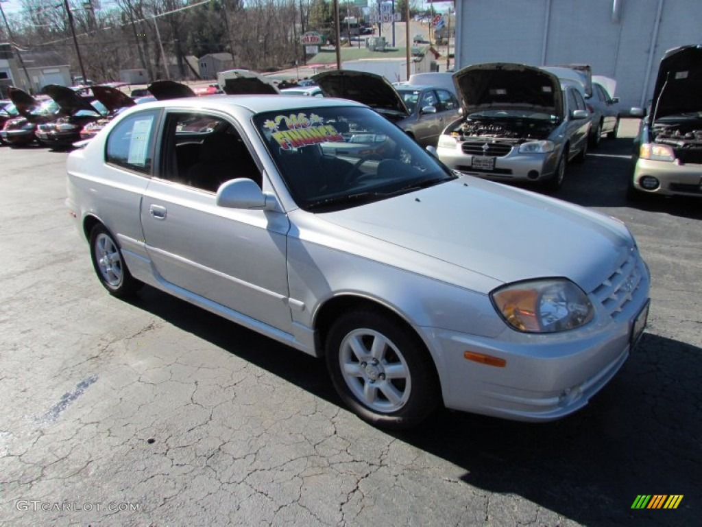 2005 silver mist hyundai accent gt coupe 79628333. Black Bedroom Furniture Sets. Home Design Ideas