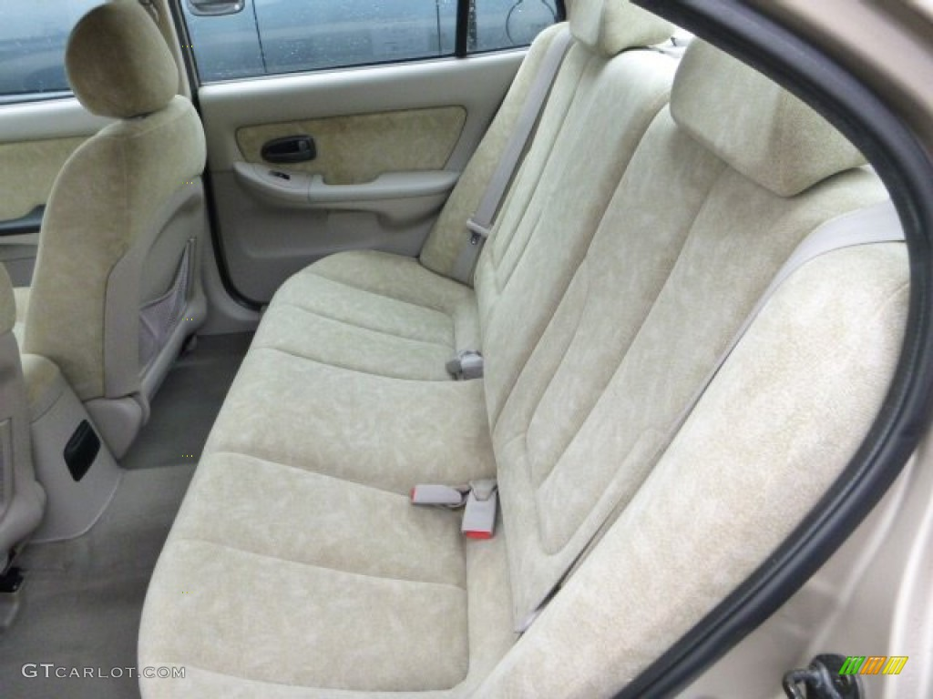 2003 hyundai elantra gls sedan rear seat photo 79663098. Black Bedroom Furniture Sets. Home Design Ideas