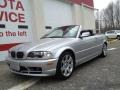 Titanium Silver Metallic - 3 Series 325i Convertible Photo No. 1