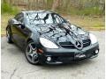 Black 2005 Mercedes-Benz SLK 55 AMG Roadster