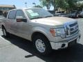 Pale Adobe Metallic 2012 Ford F150 Lariat SuperCrew