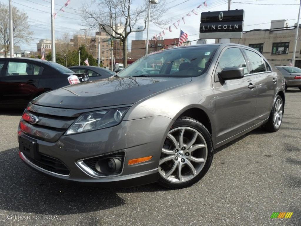 2011 Fusion SEL V6 AWD - Sterling Grey Metallic / Charcoal Black photo #1