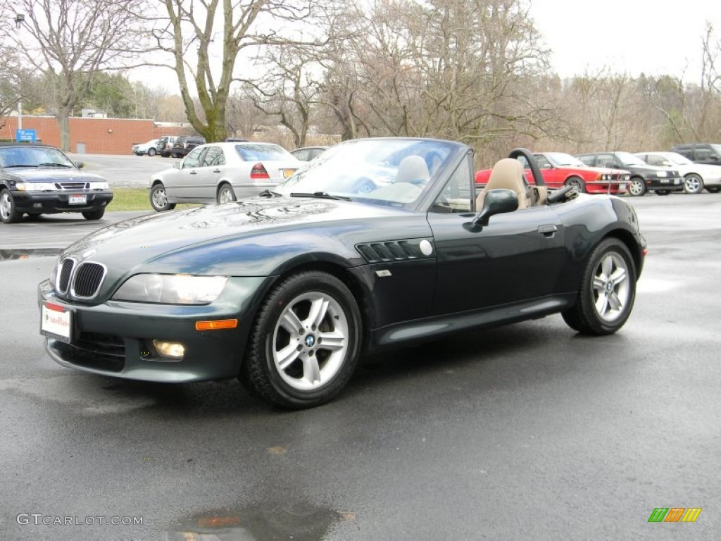 2000 oxford green metallic bmw z3 2 3 roadster 79684654. Black Bedroom Furniture Sets. Home Design Ideas