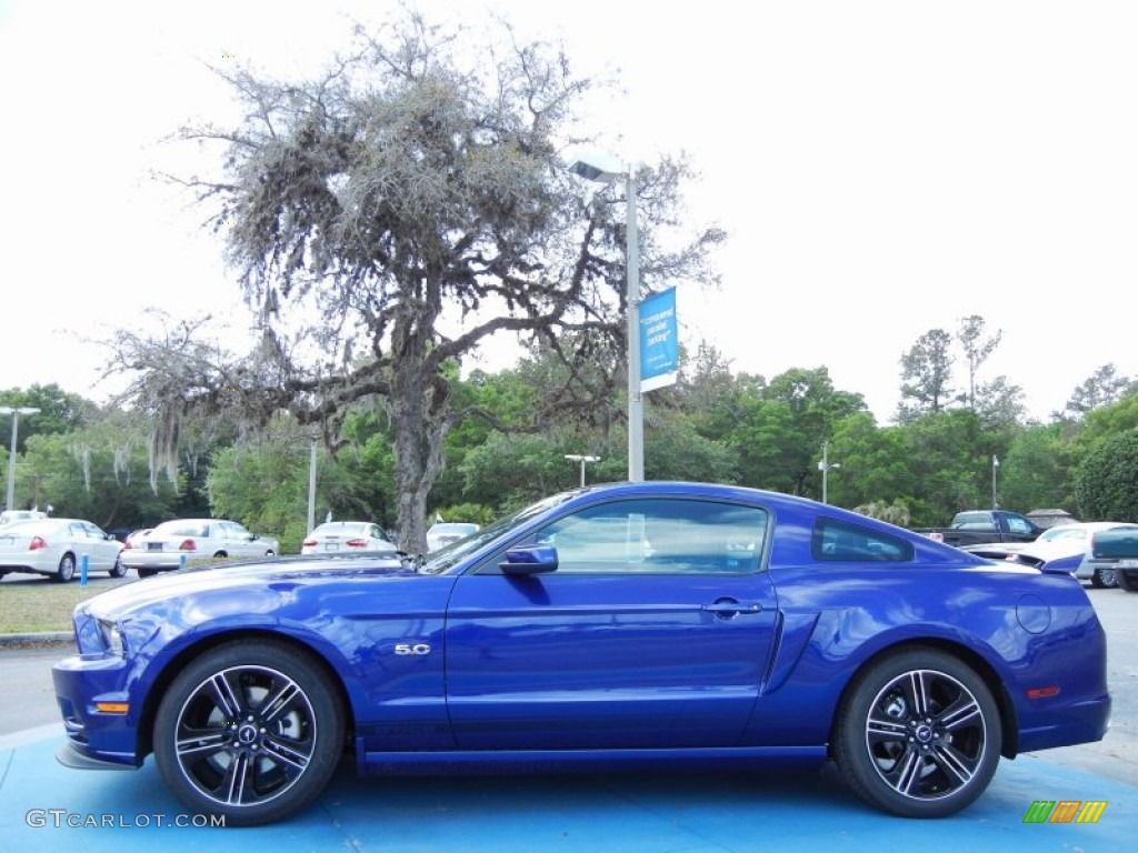 Deep impact blue 2014 ford mustang gtcs california special coupe exterior photo 79702306