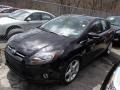 2012 Tuxedo Black Metallic Ford Focus Titanium 5-Door  photo #3