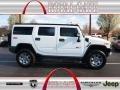 Birch White 2009 Hummer H2 SUV