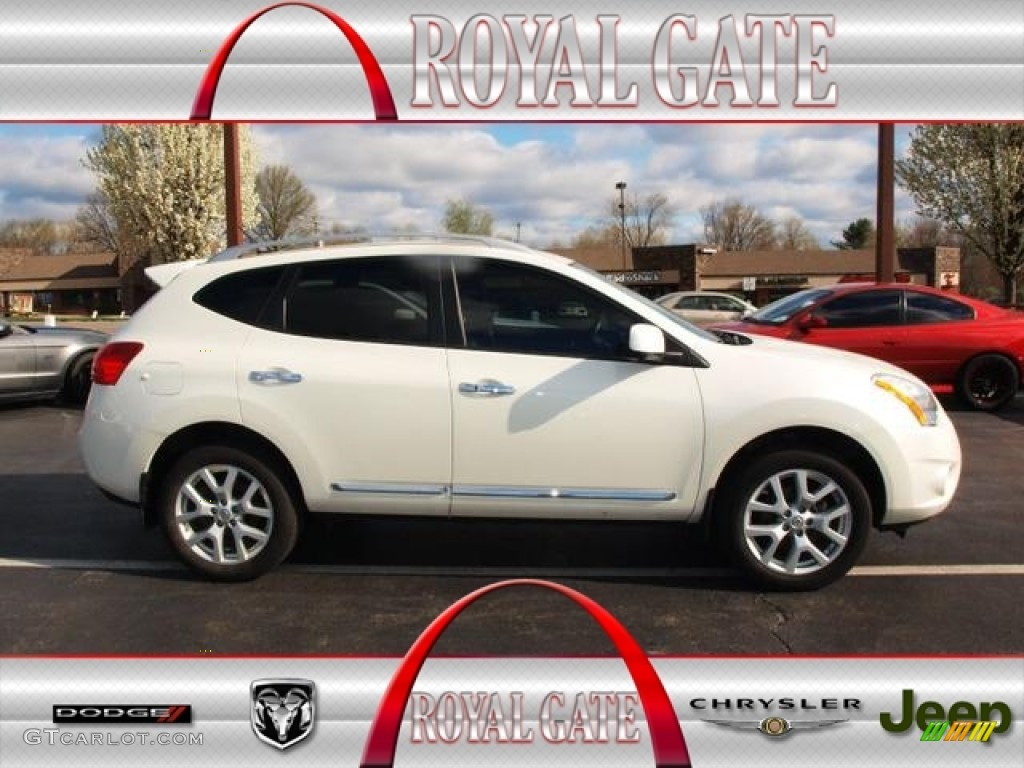 2012 pearl white nissan rogue sl awd 79712733 gtcarlot 2012 rogue sl awd pearl white black photo 1 vanachro Image collections
