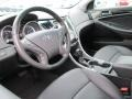 Black 2011 Hyundai Sonata Interiors