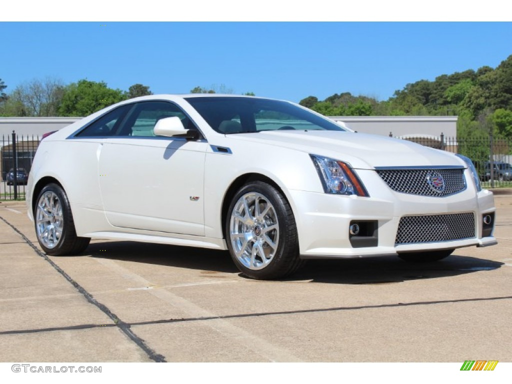 white diamond tricoat 2013 cadillac cts v coupe exterior photo 79728540. Black Bedroom Furniture Sets. Home Design Ideas