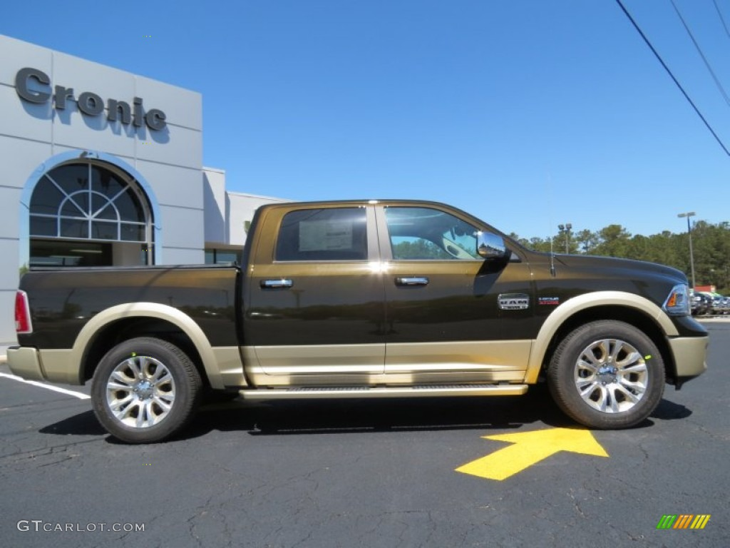 2013 black gold pearl ram 1500 laramie longhorn crew cab 79713132 photo 8 car. Black Bedroom Furniture Sets. Home Design Ideas