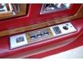 Controls of 1985 Eldorado Biarritz Coupe