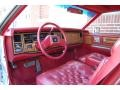 1985 Eldorado Biarritz Coupe Red Interior